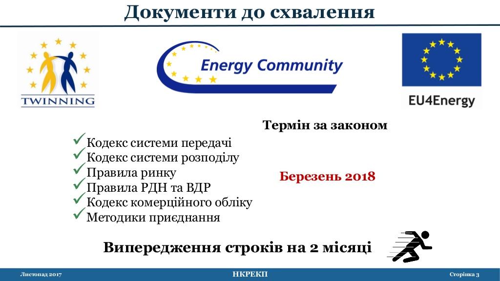 Опережение графика энергореформы