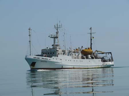 Украина приступила кизучению черноморского шельфа нагаз инефть