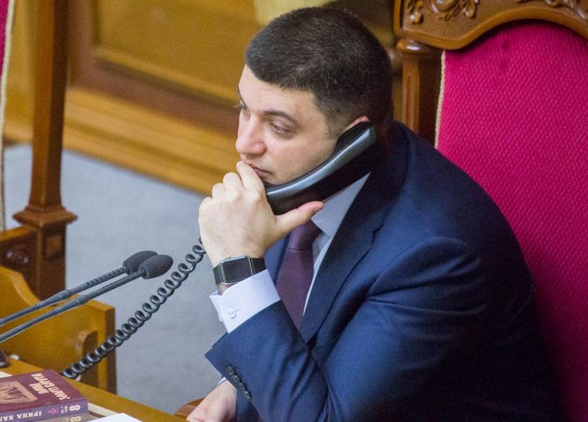 Гройсман уверил  Шефчовича внадежности Украины как транзитера газа