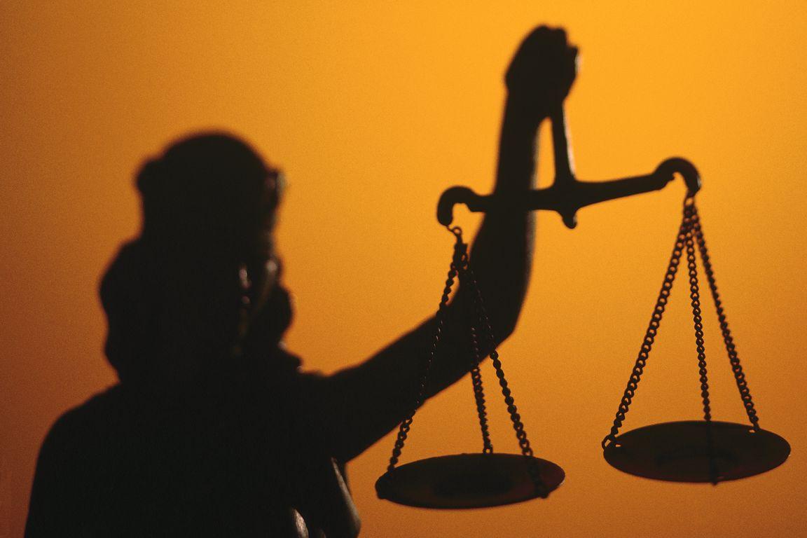 Фемида и весы правосудия