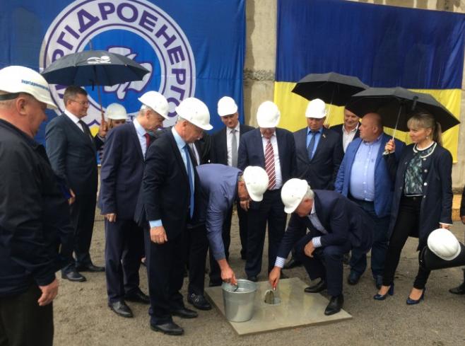 Стартовало строительство 2-ой очереди Днестровской ГАЭС