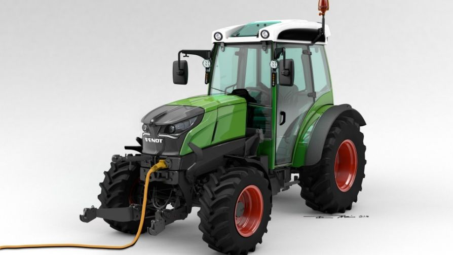 В Германии выпустили первый серийный электрический трактор Fendt e100 Vario