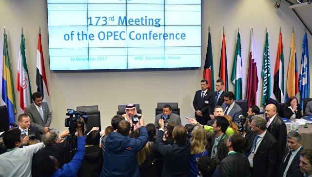 Участники ОПЕК+ продлили соглашение о«заморозке» нефтедобычи