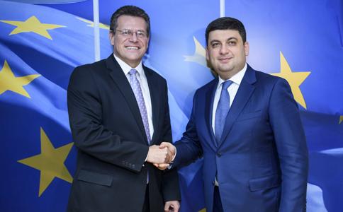 Гройсман обозначил рост торговли между государством Украина и EC