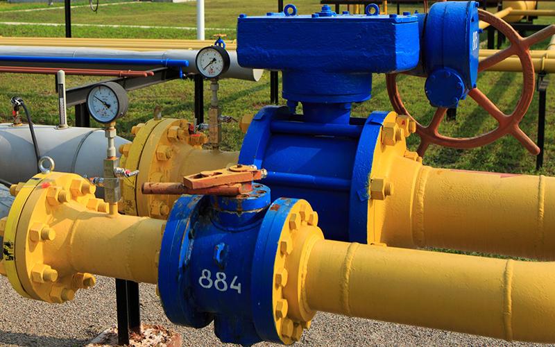 Украина в I кв. снизила импорт газа в 2,3 раза